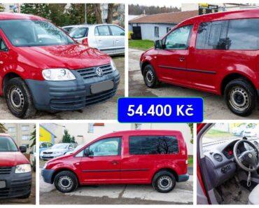 24.6.2021 Dražba automobilu Volkswagen Caddy 1.9 TDi. Vyvolávací cena 54.400 Kč, ➡️ ID806912