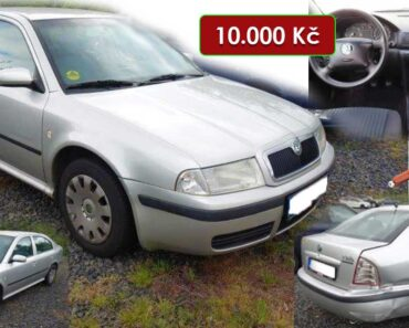 7.7.2021 Aukce automobilu Škoda Octavia. Vyvolávací cena 10.000 Kč, ➡️ ID809206