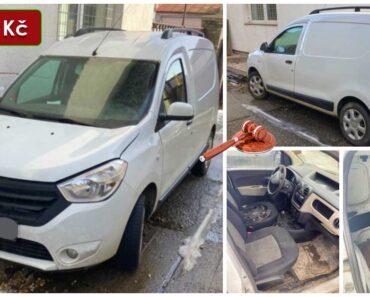 21.7.2021 Dražba automobilu Dacia Dokker. Vyvolávací cena 30.000 Kč, ➡️ ID809071