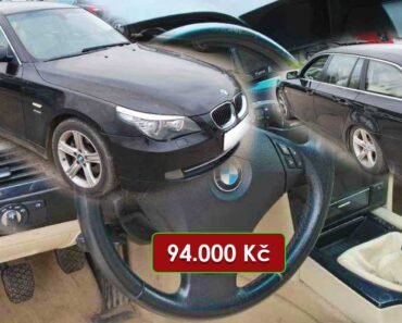 16.6.2021 Aukce automobilu BMW Řada 5 530D XDRIVE. Vyvolávací cena 94.000 Kč, ➡️ ID807539