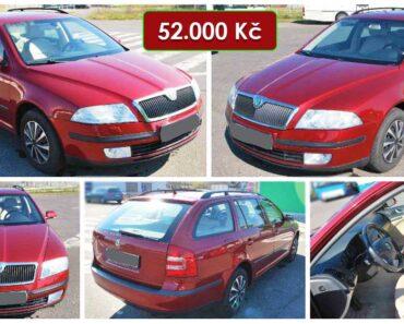 16.6.2021 Aukce automobilu Škoda Octavia Combi 1.6 FSI. Vyvolávací cena 52.000 Kč, ➡️ ID807539