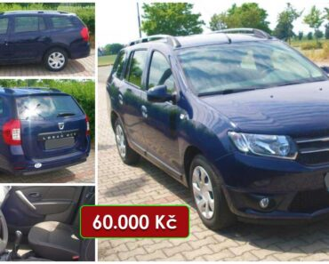 17.8.2021 Aukce automobilu Dacia Logan. Vyvolávací cena 60.000 Kč, ➡️ ID810264