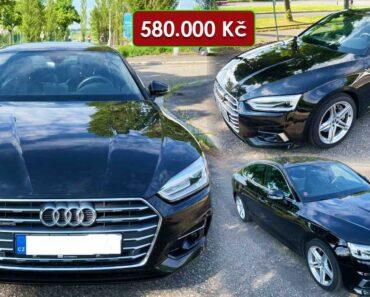 22.6.2021 Dražba automobilu Audi A5 3.0 TDI. Vyvolávací cena 580.000 Kč, ➡️ ID808273