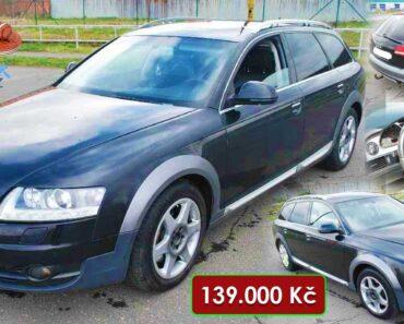 Do 29.6.2021 Dražba automobilu Audi A6 Allroad 3,0 TDI 176 KW, 4x4. Vyvolávací cena 139.000 Kč, ➡️ ID2145231