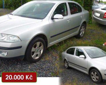 7.7.2021 Aukce automobilu Škoda Octavia. Vyvolávací cena 20.000 Kč, ➡️ ID809182