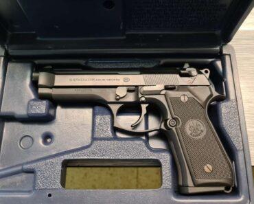 Do 10.7.2021 Výběrové řízení na prodej zbraně (Pistole Bereta). Min. kupní cena - prodej nejvyšší nabídce Kč, ➡️ ID808192