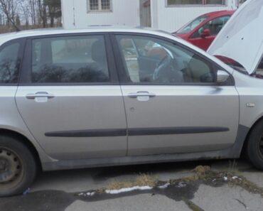 17.8.2021 Dražba automobilu Fiat Stilo 1.6. Vyvolávací cena 5.000 Kč, ➡️ ID812950