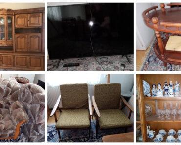 19.8.2021 Dražba nábytku (Nábytek, televizor, nádobí, ...). Vyvolávací cena 10.000 Kč, ➡️ ID811746