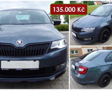 2.9.2021 Aukce automobilu Škoda Rapid. Vyvolávací cena 135.000 Kč, ➡️ ID814441