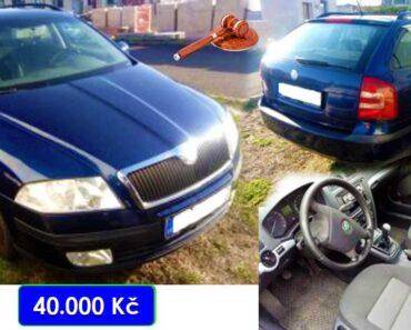 Zisková Dražba Škoda Octavia II – vydraženo jen za: nevydraženo Kč
