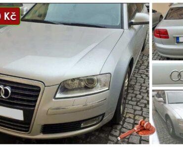 Do 6.8.2021 Výběrové řízení na prodej automobilu Audi A8 Long Quattro. Min. kupní cena 144.490 Kč, ➡️ ID814399
