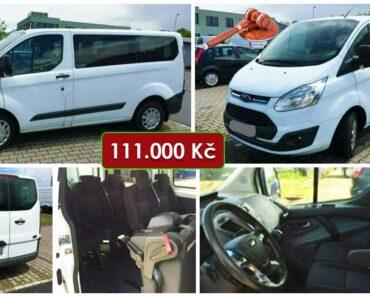 12.8.2021 Dražba automobilu Ford Transit Custom 2.0 TDCi. Vyvolávací cena 111.000 Kč, ➡️ ID811616