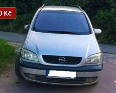 Do 31.8.2021 Výběrové řízení na prodej automobilu Opel Zafira. Min. kupní cena 20.000 Kč, ➡️ ID814203