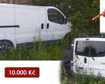 Do 20.8.2021 Výběrové řízení na prodej automobilu Renault Trafic DCi 1.9 na ND. Min. kupní cena 10.000 Kč, ➡️ ID814184