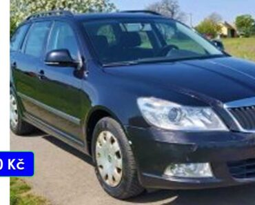Zisková Dražba Škoda Octavia II – vydraženo jen za: 56.000 Kč
