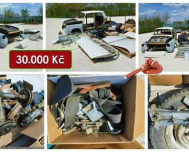 17.8.2021 Dražba automobilu Škoda 1000 MB. Vyvolávací cena 30.000 Kč, ➡️ ID813388