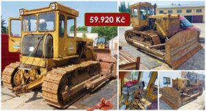 Do 8.8.2021 Výběrové řízení na prodej stroje Buldozer T 170. Min. kupní cena 59.920 Kč, ➡️ ID814011