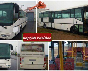 Do 15.8.2021 Výběrové řízení na prodej autobusu - městský SOR. Min. kupní cena - prodej nejvyšší nabídce Kč, ➡️ ID814210