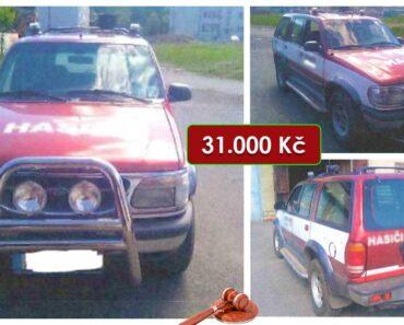 Do 9.8.2021 Výběrové řízení na prodej automobilu Ford Explorer. Min. kupní cena 31.000 Kč, ➡️ ID814174