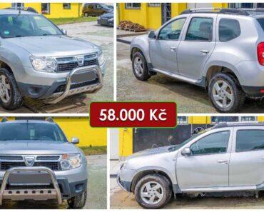 3.8.2021 Dražba automobilu Dacia Duster 1.5 dCi. Vyvolávací cena 58.000 Kč, ➡️ ID811589