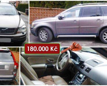 Do 10.9.2021 Výběrové řízení na prodej automobilu Volvo XC90. Min. kupní cena 180.000 Kč, ➡️ ID814337
