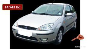 Do 8.8.2021 bude probíhat aukce auta Ford Focus, vyvol. cena 14.943 Kč