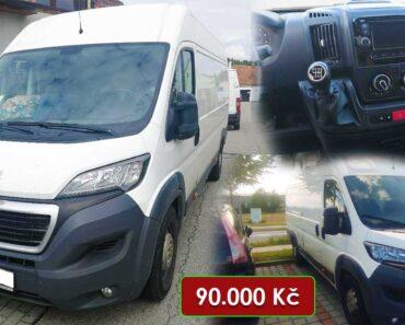30.9.2021 Dražba automobilu Peugeot Boxer. Vyvolávací cena 90.000 Kč, ➡️ ID824351