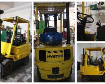 Do 31.12.2021 Výběrové řízení na prodej vysokozdvižného vozíku VZV Hyster. Min. kupní cena  - prodej nejvyšší nabídce Kč, ➡️ ID826775