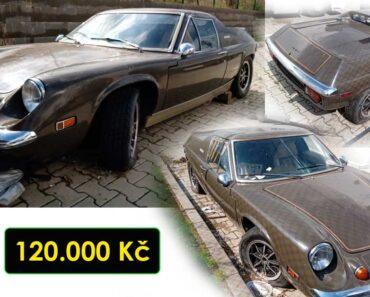 23.9.2021 Aukce automobilu Lotus Europa. Vyvolávací cena 120.000 Kč, ➡️ ID829180