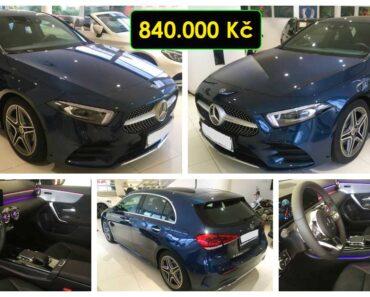23.9.2021 Aukce automobilu Mercedes Benz A 200D AMG line. Vyvolávací cena 840.000 Kč, ➡️ ID829203