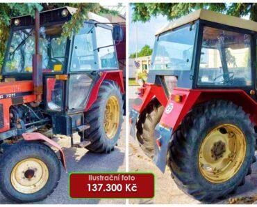 Do 29.9.2021 Výběrové řízení na prodej traktoru Zetor 7211. Min. kupní cena 137.300 Kč, ➡️ ID827940