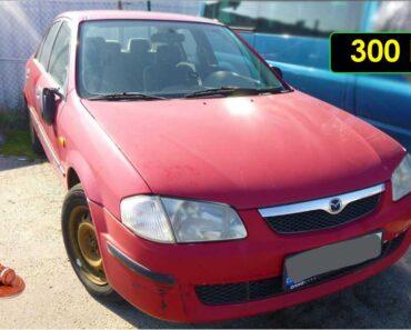 12.10.2021 Dražba automobilu Mazda 323. Vyvolávací cena 300 Kč, ➡️ ID826641