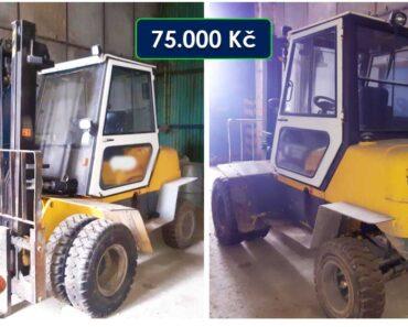 Do 26.10.2021 Výběrové řízení na prodej vysokozdvižného vozíku Balkancar Record. Min. kupní cena 75.000 Kč, ➡️ ID830196