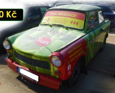 5.10.2021 Dražba automobilu Trabant. Vyvolávací cena 300 Kč, ➡️ ID829410