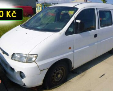 5.10.2021 Dražba automobilu Hyundai H1 2.5. Vyvolávací cena 300 Kč, ➡️ ID829420