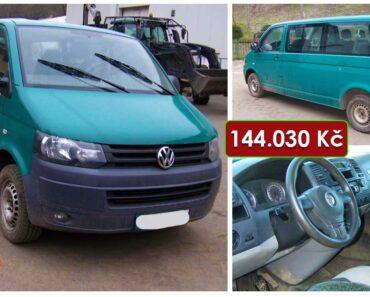 Do 1.10.2021 Výběrové řízení na prodej automobilu Volkswagen Transporter 2.0 TDI. Min. kupní cena 144.030 Kč, ➡️ ID828357