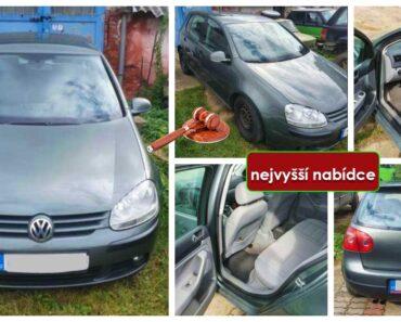Do 1.12.2021 Výběrové řízení na prodej automobilu VW Golf, 4x4. Min. kupní cena - prodej nejvyšší nabídce Kč, ➡️ ID828584