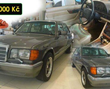 23.9.2021 Aukce automobilu Mercedes Benz W126 500 SEL. Vyvolávací cena 390.000 Kč, ➡️ ID829229