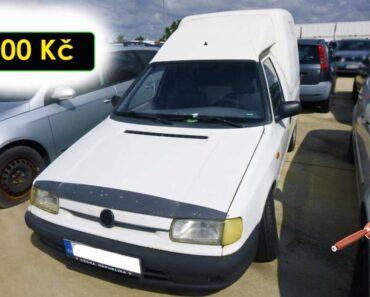 5.10.2021 Dražba automobilu Škoda Pickup. Vyvolávací cena 300 Kč, ➡️ ID829264