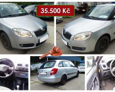Do 2.10.2021 Aukce automobilu Škoda Fabia II Combi 1,6. Vyvolávací cena 35.500 Kč, ➡️ ID829506