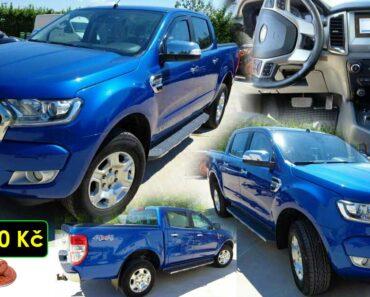 21.10.2021 Dražba automobilu Ford Ranger. Vyvolávací cena 229.900 Kč, ➡️ ID829580