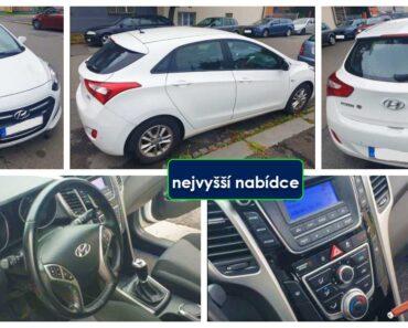 Do 30.11.2021 Výběrové řízení na prodej automobilu Hyundai i30. Min. kupní cena - prodej nejvyšší nabídce Kč, ➡️ ID830091