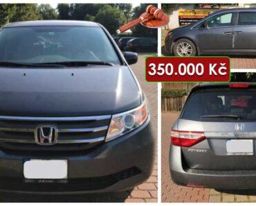 30.9.2021 Aukce automobilu Honda Oddysey. Vyvolávací cena 350.000 Kč, ➡️ ID828408