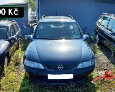 2.10.2021 Dražba automobilu Opel Vectra Caravan. Vyvolávací cena 500 Kč, ➡️ ID827465