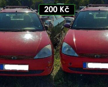 2.10.2021 Dražba automobilu Ford Focus. Vyvolávací cena 200 Kč, ➡️ ID827409