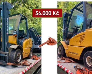 21.10.2021 Dražba vysokozdvižného vozíku Desta Jungheinrich. Vyvolávací cena 56.000 Kč, ➡️ ID828964