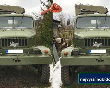 Do 31.10.2021 Výběrové řízení na prodej nákladního automobilu Praga. Min. kupní cena  - prodej nejvyšší nabídce Kč, ➡️ ID830512