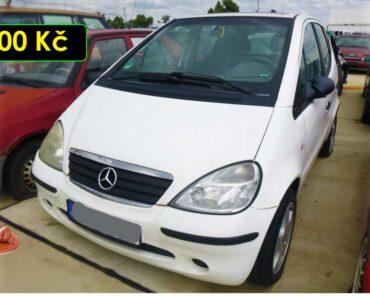 12.10.2021 Dražba automobilu Mercedes A 170 CDI. Vyvolávací cena 300 Kč, ➡️ ID826432