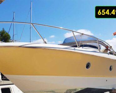 12.10.2021 Dražba plavidla - kajutová jachta. Vyvolávací cena 654.493 Kč, ➡️ ID829259