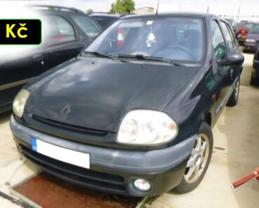 5.10.2021 Dražba automobilu Renault Clio 1.2. Vyvolávací cena 300 Kč, ➡️ ID829645